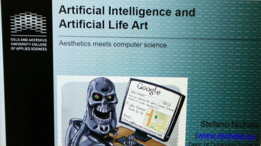 You are currently viewing Guest Lecture at EST – Artificial Intelligence and Artificial Life Art