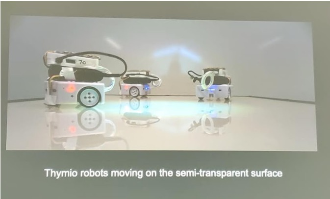 You are currently viewing Swarm Robotics Art presented at ALIFE 2019 conference in Newcastle, https://2019.alife.org/