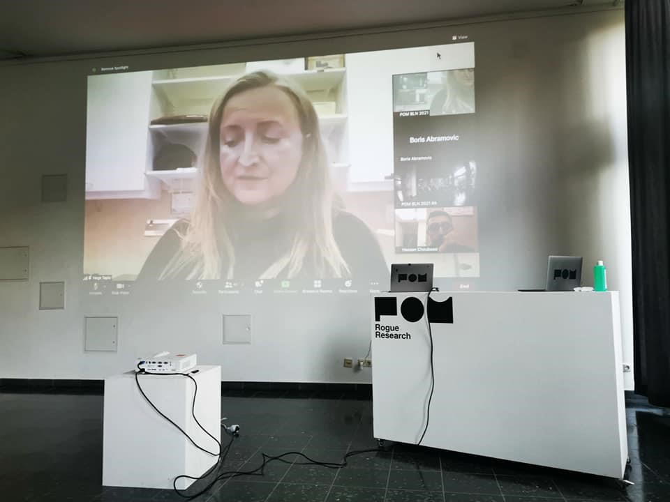 """Read more about the article Intervention """"Emotional Machines"""" at POM Berlin 2021"""